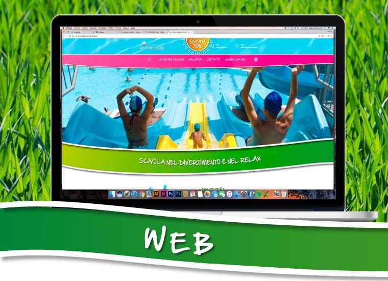 Treelab agency agenzia di comunicazione piscine conca verde - Piscina san pietro in gu ...